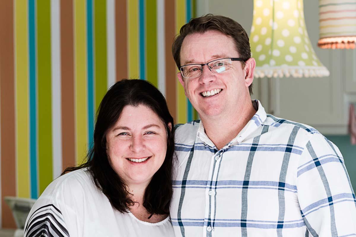 Wayne & Kim Allen, Founders of Tiny Owls Baby Home